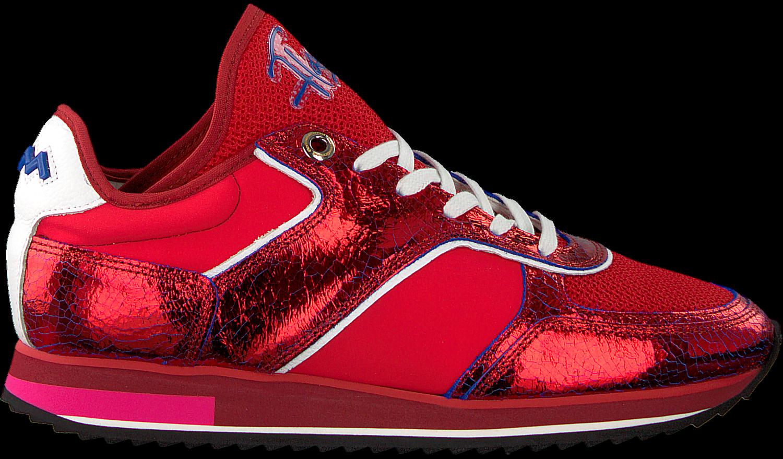 Rote FLORIS VAN BOMMEL Sneaker 85261 | Omoda