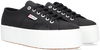 Schwarze SUPERGA Sneaker low 2790 COTW LINE UP AND DOWN  - small