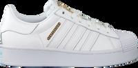 Weiße ADIDAS Sneaker low SUPERSTAR BOLD  - medium