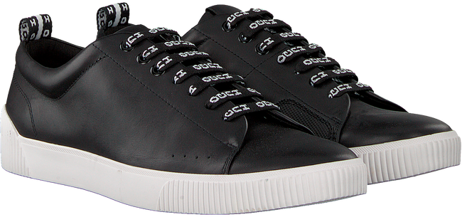 Schwarze HUGO Sneaker ZERO_TENN_NARB  - large
