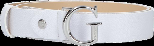 Weiße GUESS Gürtel CORILY ADJUSTABLE PANT BELT  - large