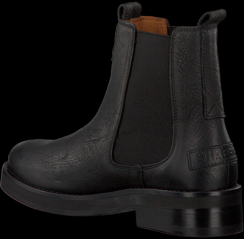 12e4e82c749054 Schwarze SHABBIES Chelsea Boots 182020063 - Omoda.de