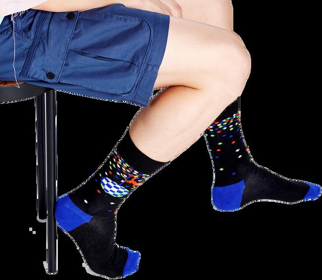 Schwarze HAPPY SOCKS Socken DISCO MONKEY  - large