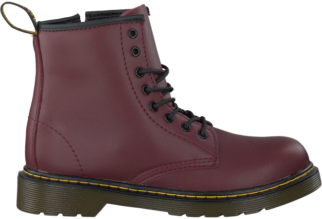 Rote DR MARTENS Schnürboots DELANEY/BROOKLY - large