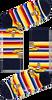 Mehrfarbige/Bunte HAPPY SOCKS Socken BEATLES ALL ON BOARD SOCK  - small