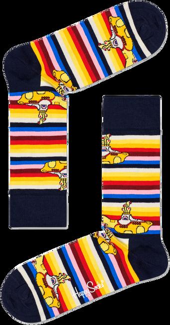Mehrfarbige/Bunte HAPPY SOCKS Socken BEATLES ALL ON BOARD SOCK  - large