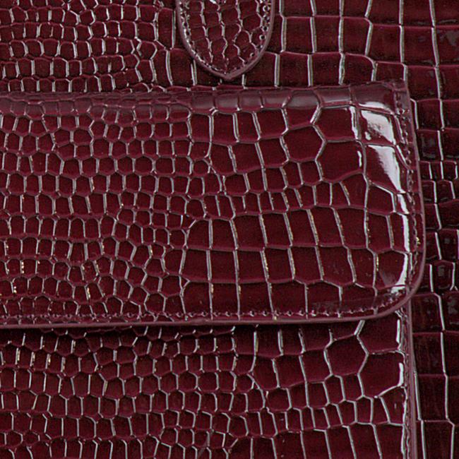 Braune HVISK Handtasche CAYMAN TOTE  - large