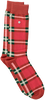Orangene Alfredo Gonzales Socken CLASSIC CHECK  - small
