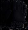 Schwarze UGG Handschuhe SHORTY GLOVE W/TRIM  - small