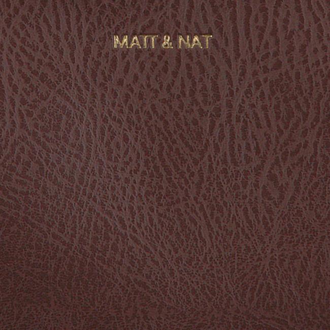 Braune MATT & NAT Umhängetasche TRIPLET CROSSBODY  - large