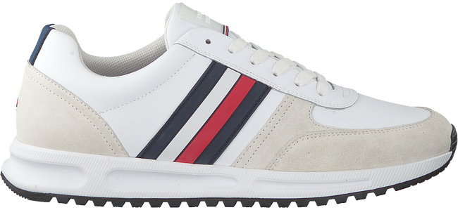 Weiße TOMMY HILFIGER Sneaker low MODERN CORPORATE RUNNER  - large