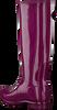 Rote HUNTER Gummistiefel ORIGINAL TALL GLOSS - small