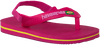 Rote HAVAIANAS Pantolette BABY BRASIL LOGO II  - small