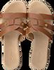 Cognacfarbene OMODA Pantolette 179854  - small