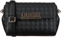 Schwarze GUESS Handtasche MATRIX CNVRTBLE XBODY BELT BAG  - medium