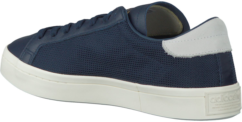 blaue adidas sneaker courtvantage heren schuhmode online. Black Bedroom Furniture Sets. Home Design Ideas