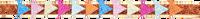 Mehrfarbige/Bunte LE BIG Stirnband TINTE HEADBAND  - medium