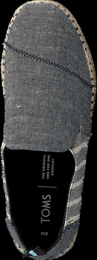 Schwarze TOMS Espadrilles DECONSTRUCTED ALPARGATA ROPE  - larger