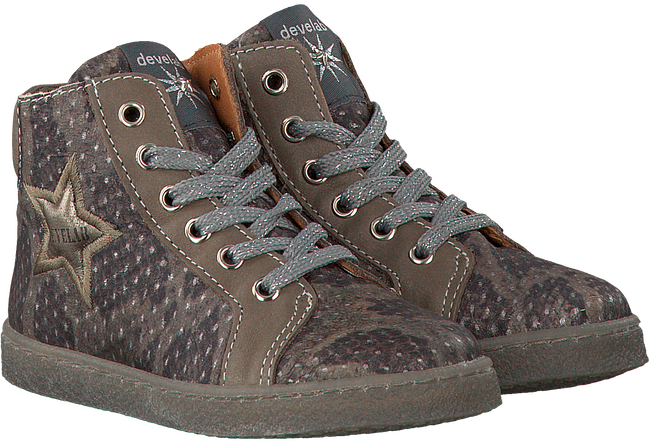 Taupe DEVELAB Sneaker 41416 - large