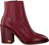 Rote TOMMY HILFIGER Stiefeletten MONO COLOR HEELED  - small