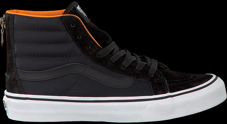 schwarze vans sneaker sk8 hi slim zip jetzt im sale. Black Bedroom Furniture Sets. Home Design Ideas