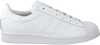 Weiße ADIDAS Sneaker low SUPERSTAR DAMES  - small