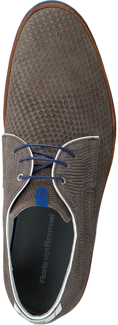 Taupe FLORIS VAN BOMMEL Business Schuhe 14020  - large