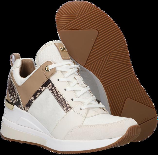 Weiße MICHAEL KORS Sneaker low GEORGIE TRAINER  - large