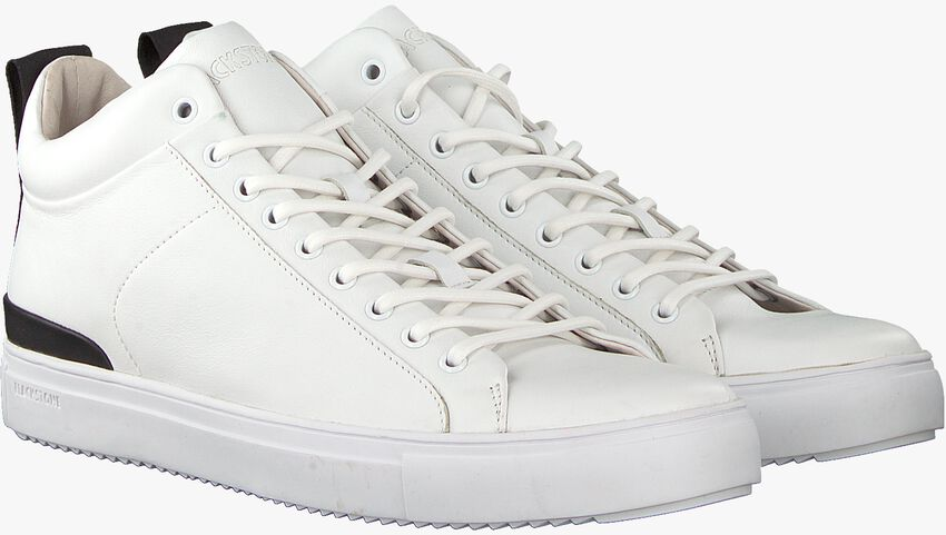 Weiße BLACKSTONE Sneaker RM14  - larger