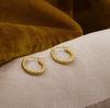 Goldfarbene NOTRE-V Ohrringe OORBEL KLEINE BOLLETJES  - small