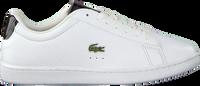 Weiße LACOSTE Sneaker low CARNABY EVO 220 1  - medium