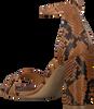 Cognacfarbene NOTRE-V Sandalen 4706  - small