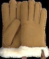 Camelfarbene UGG Handschuhe SHORTY GLOVE W/TRIM  - medium