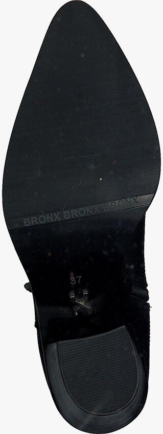 Schwarze BRONX Cowboystiefel NEW-AMERI  - larger