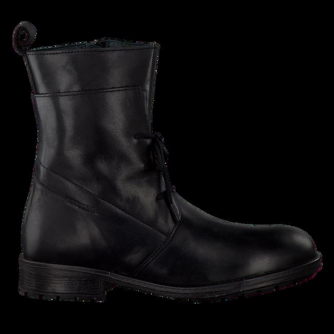 Schwarze GATTINO Schnürstiefel G1497 - large