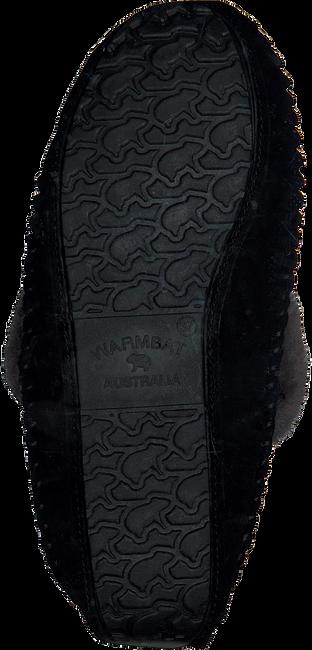 Schwarze WARMBAT Hausschuhe BARRINE  - large