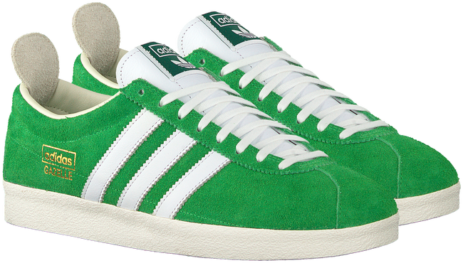 Grüne ADIDAS Sneaker low GAZELLE VINTAGE W  - large