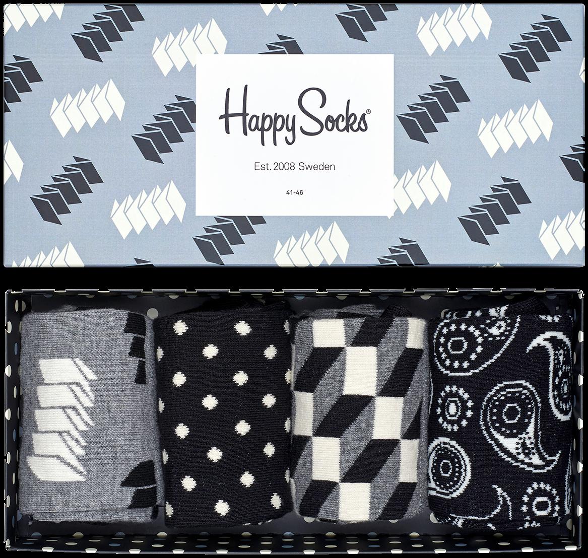 Mehrfarbige/Bunte HAPPY SOCKS Socken GIFT PACK YGO0c