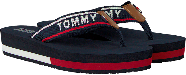 Blue TOMMY HILFIGER shoe TOMMY JEANS MID BEACH SANDAL  - large