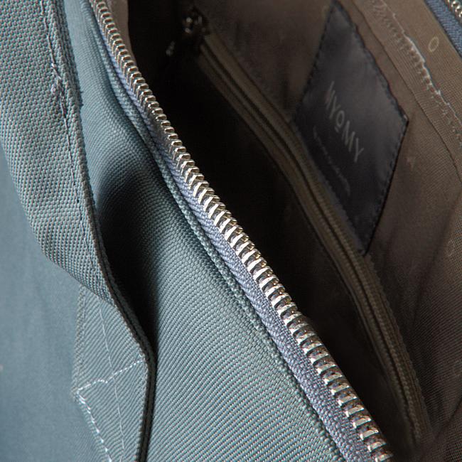 Blaue MYOMY Laptoptasche MY PHILIP BAG LAPTOP  - large