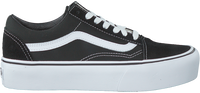 Schwarze VANS Sneaker OLD SKOOL PLATFORM - medium