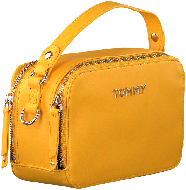 Gelbe TOMMY HILFIGER Umhängetasche COOL TOMMY MINI TRUNK  - large