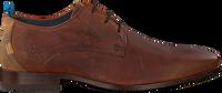 Cognacfarbene REHAB Business Schuhe GREG WALL 02 - medium