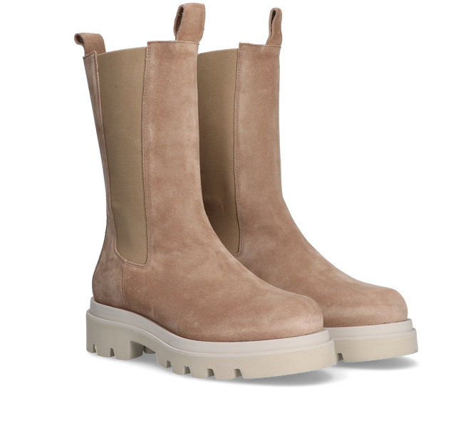 Beige TORAL Chelsea Boots TL-12577  - large