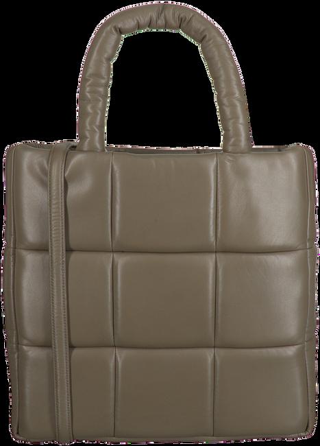 Braune STAND STUDIO Handtasche ASSANTE BAG  - large