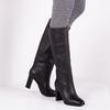 Schwarze LOLA CRUZ Hohe Stiefel 304B10BK-D-I19  - small