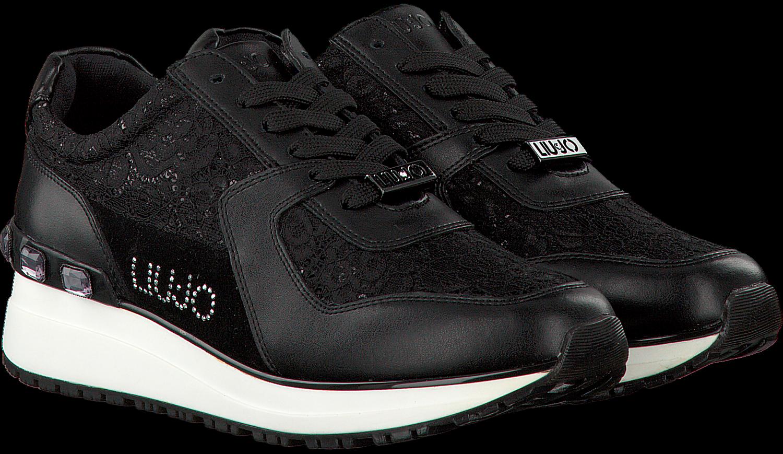 be4d71aacbf6 Schwarze LIU JO Sneaker S67193 - Jetzt im Sale   Omoda.de