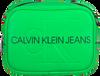 Grüne CALVIN KLEIN Umhängetasche CAMERA BAG  - small