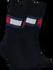 Blaue TOMMY HILFIGER Socken TH JEANS FLAG  - small