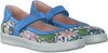 Blaue WILD Ballerinas 4517 - small